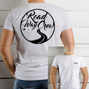 RoadWayCrew T-Shirt Design 2K19