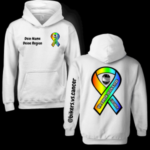 bikers.vs.cancer Hoodie Ansprechpartner Version