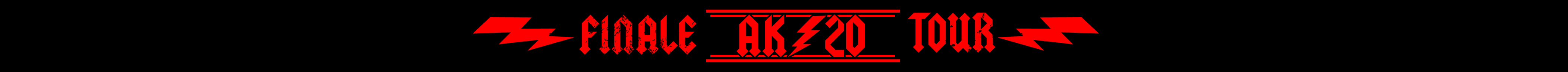 Abschluss-Stoffband AK20: ACDC Finale Tour