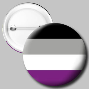 Gender Button: Asexual Button